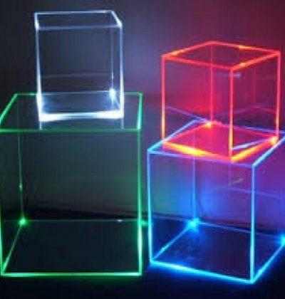 لایت باکس های رنگی مربعی